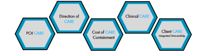 The five pillars of the GBCARE platform