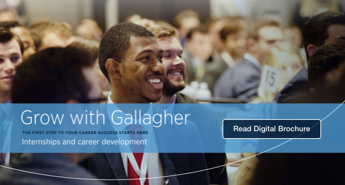 Read Gallagher's Internship Brochure