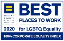 2020 Best Places to Work For LGTBQ Equality